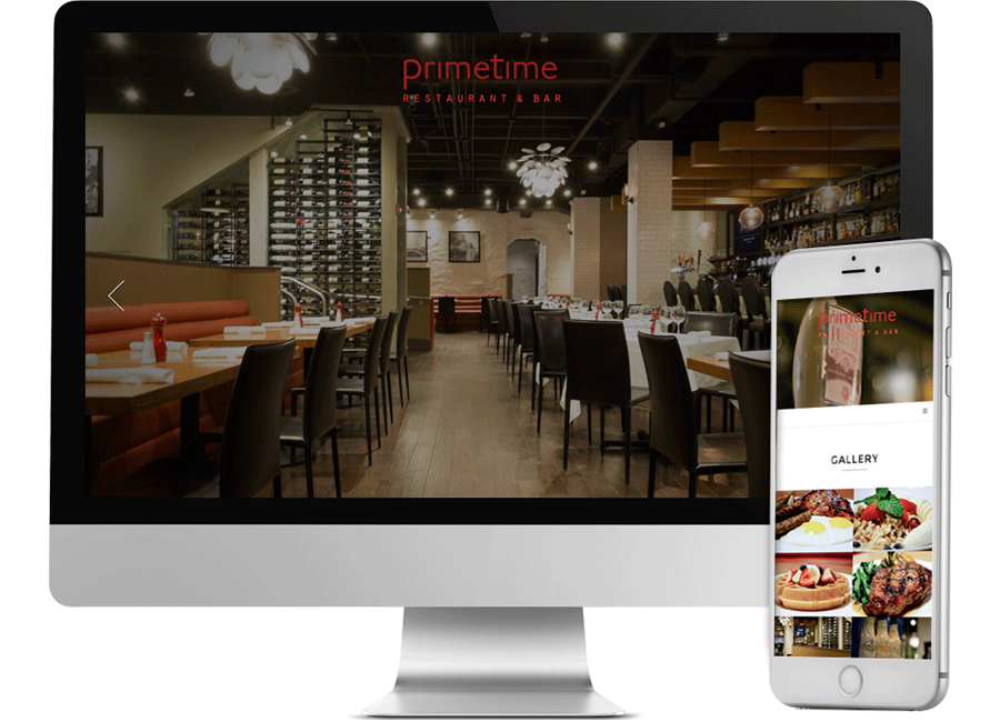 Restaurant website design weston